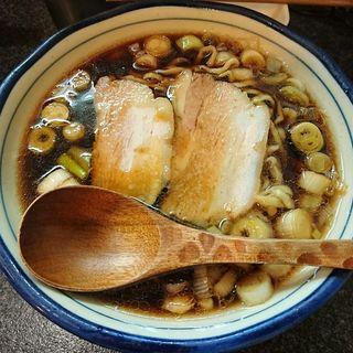 黒壺ラーメン(烈志笑魚油 麺香房 三く)