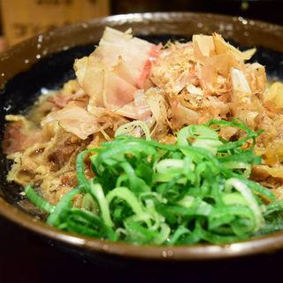 かけ・冷・小 + 肉ぶっかけ(香川一福 池袋)