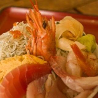 海鮮丼(牧原鮮魚店 )
