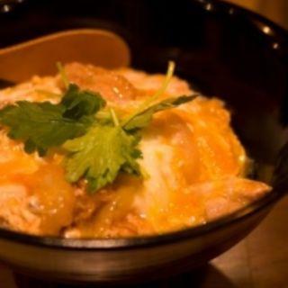 炙り鳥の親子丼(1番酒場 バリ鳥 )