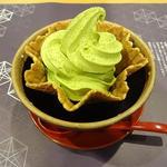 季節限定 抹茶ソフトクリーム
