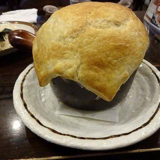 ミートパイ包みスープカレー (らっきょ&Star)