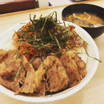 キムカル丼(特盛)