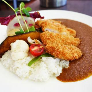 野菜ロースかつカレー(Cfarm 南森町店)