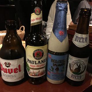 ベルギービール(ビア カフェ ド ブルージュ (Beer Cafe de BRUGGE))