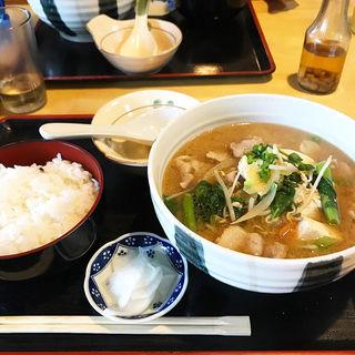味噌汁定食(あがりじま )