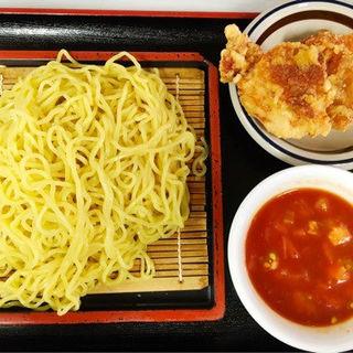 トマトざるラーメン(ザンギ2個付)夏季限定(中国料理 布袋 (ホテイ))
