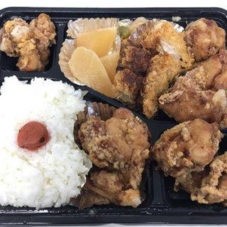 ザンギ弁当(特カツmix)(まんちくりん )
