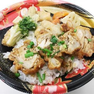 ザンギピリ辛丼 いかブロッコリー(惣菜 一心 大谷地店)
