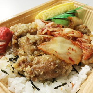 キムチ塩ザンギ丼(あじ太郎 西線店)