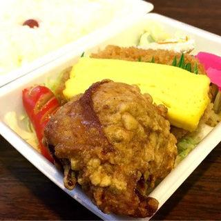 重ねコロッケ弁当(あじ太郎 西線店)