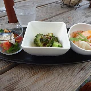 前菜3種盛り合わせ (トラットリア・モキチ (TRATTORIA MOKICHI))