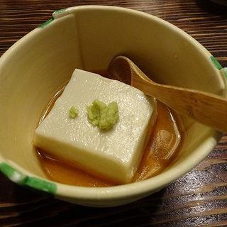 ごま豆腐(室町砂場 (むろまちすなば))