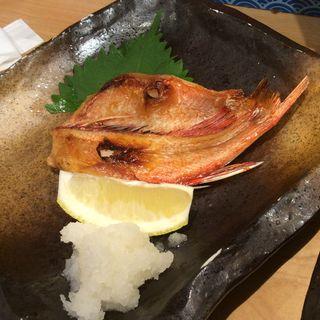 きんきの塩焼き(スタンド 富)