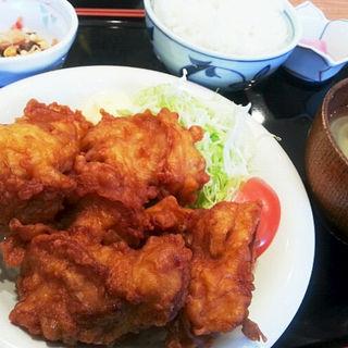 ザンギ定食 6つ入(ランチ)(KITCHEN 鑓水商店 )