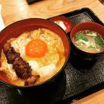究極の親子丼(レバー入り)(鶏味座 京橋エドグラン店)