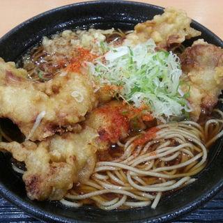 ザンギそば(ザンギ2枚)(幌加内製麺 イオンモール札幌発寒店(ホロカナイセイメン))