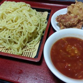 トマトざるラーメン(ザンギ2ヶ付)(中国料理 布袋 (ホテイ))