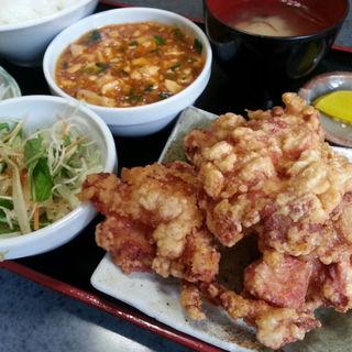 ザンギ定食B(中国料理 布袋 (ホテイ))