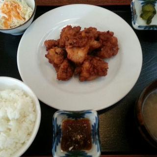 ザンギ定食(ランチ)(喜々楽々食堂 (キキララショクドウ))