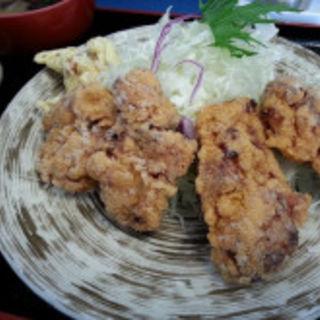 鶏から定食(札幌らーめん いしい)