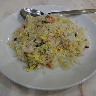 蟹チャーハン(蟹肉炒飯)(華錦飯店)