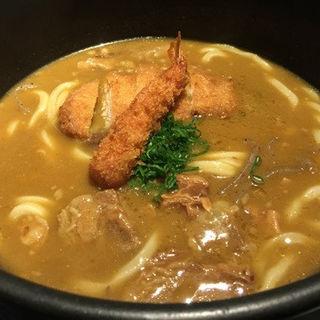 カレー三昧のおうどん(つるとんたん 六本木店 )