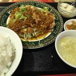 若鶏の唐揚げ定食(上海料理 随苑 )