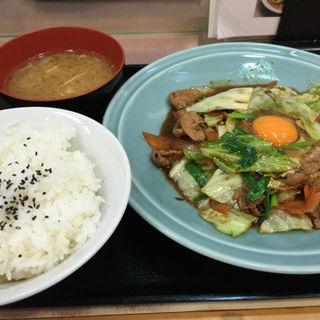 野菜と肉のタレ焼き定食(ランチハウス ミトヤ )