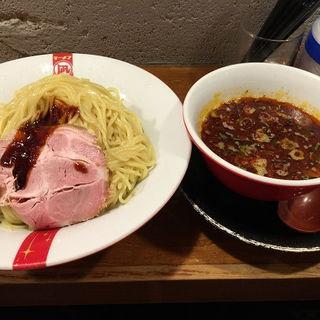 つけ麺 赤(大盛)(ラーメン凪 豚王 大宮店)