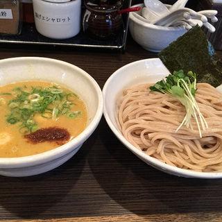 鶏白湯つけ麺(大盛)( 鶏そば一瑳)