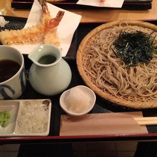 天婦羅蕎麦(海老2本)(手打蕎麦 松永 (まつなが))
