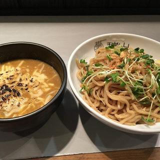 焦がしチーズのカレーつけ麺 (中華蕎麦 瑞山)