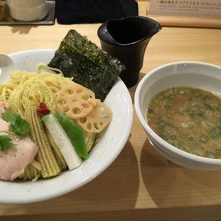 鶏白湯魚介つけSOBA 並・大(銀座 篝 Echika fit 銀座店 (ギンザ カガリ))