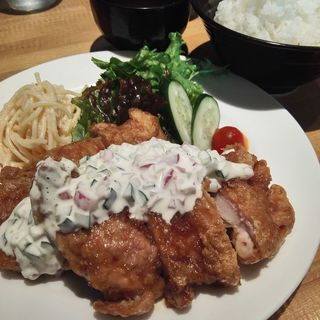 チキン南蛮ランチ(洋食屋 うおひろ )