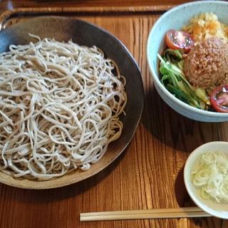 ピリ辛汁そば(蕎花)
