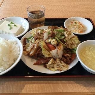 回鍋肉定食 (南国亭 赤坂店 )