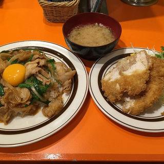 オリエンタルライス Aセット(キッチンABC 池袋東口店)