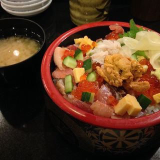 みぞれ丼(数量限定) (沼津 魚がし鮨 東京駅店 (ぬまづ うおがしずし))