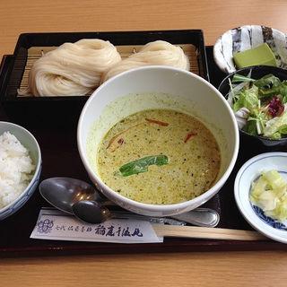 グリーンカレー つけ麺(佐藤養助 赤坂店 (【旧店名】稲庭))