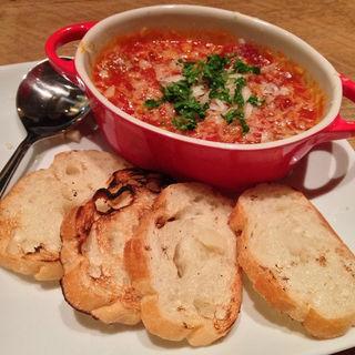 トリッパとひよこ豆のトマト煮(ジョニーとリー )
