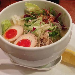 鶏白湯 塩そば(蔭山 高田馬場店 )