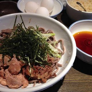 ダブル肉そば(並盛)(波留乃屋 赤坂店 (はるのや))