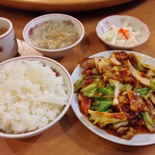 ホイコーロ炒め(慶賓樓 (慶賓楼 ケイヒンロウ))