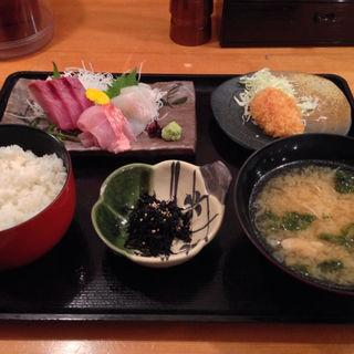 房総地魚 刺身定食 (山傳丸 赤坂店 )