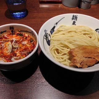 芝辛つけ麺(タバスコプラス)(麺屋武蔵 芝浦店 )