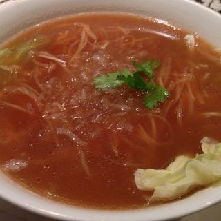 【平日限定】フカヒレ麺&北京ダックセット(全聚徳 銀座店)
