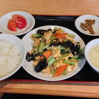 玉子ときくらげの炒め定食(南国亭 赤坂店 )