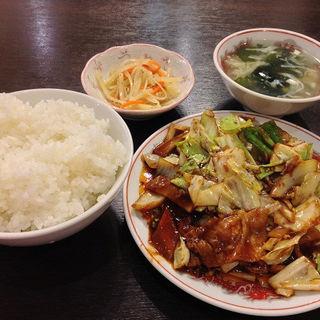 豚肉とキャベツの四川風炒め (慶賓樓 (慶賓楼 ケイヒンロウ))