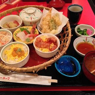 しらかば定食(郷土料理 ユック 千歳空港ターミナルビル店)